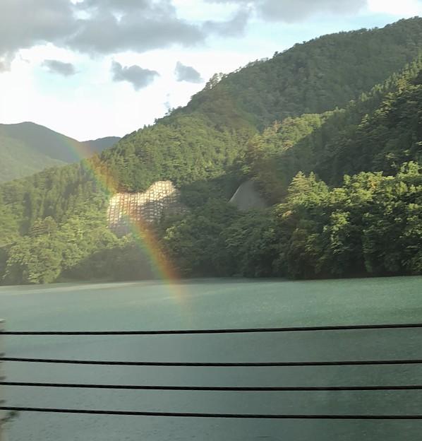 写真: 虹♪