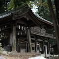 武田八幡宮_山門-8627