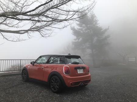 あっというまに霧