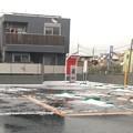 Photos: 雹が降った!