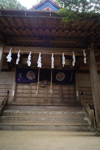 朝日稲荷神社_15拝殿へ到着-9192