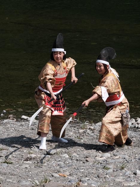 北條祭_薙刀のふたり-9370