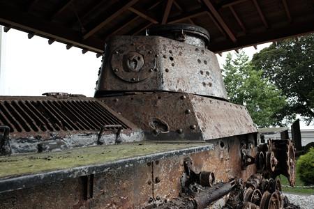若獅子神社_九七式中戦車-4787