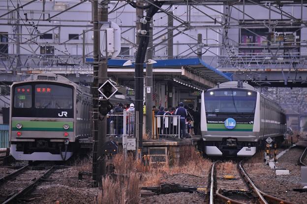 JR東日本 横浜線にE233系6000番台と205系・・20140202