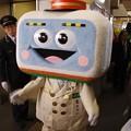 これはJR東日本のゆるキャラか?でもハマ電ちゃんって・・・20140202