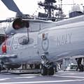 Photos: スチュアートの甲板に搭載されたS-70B-2シーホーク。。観艦式前日一般公開10月17日