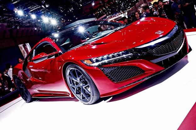 市販ベースなったHONDA NSX。。(1) 東京モーターショー2015 11月1日