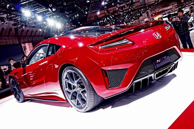 市販ベースなったHONDA NSX。。(2)東京モーターショー2015 11月1日