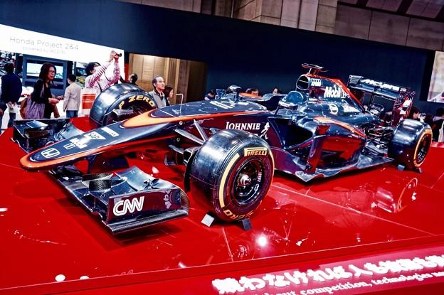 久しぶりに見るF1マシン。。マクラーレンホンダ 東京モーターショー2015 11月1日