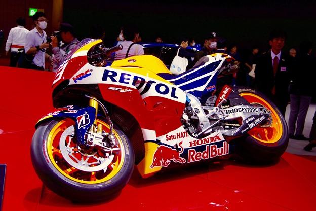 moto GP HONDAレーシングマシン。。東京モーターショー2015 11月1日