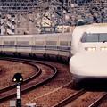 小倉へ到着の博多行きのぞみ700系。。20151121