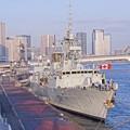 Photos: HDR。。晴海埠頭停泊中。。カナダ海軍フリゲート艦ウィニペグ。。20160131