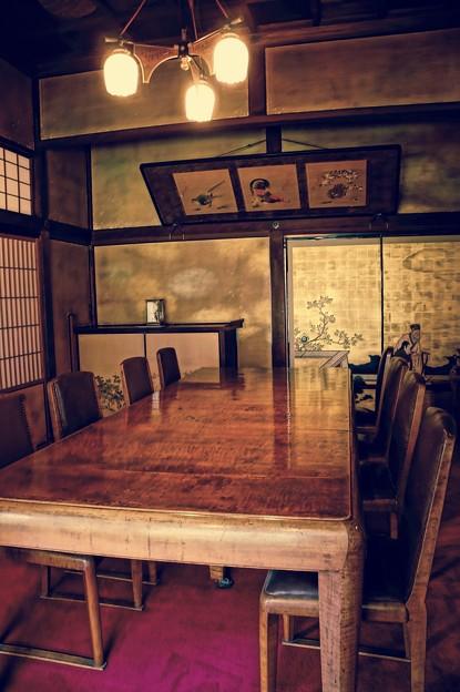 昔の豪邸。。政治家の邸宅 綺麗に保存。。江戸東京たてもの園 20160313