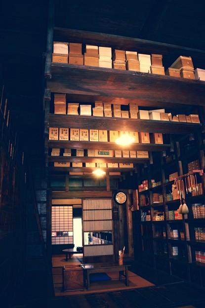 昔の文具屋さん。。店内。。江戸東京たてもの園 20160313