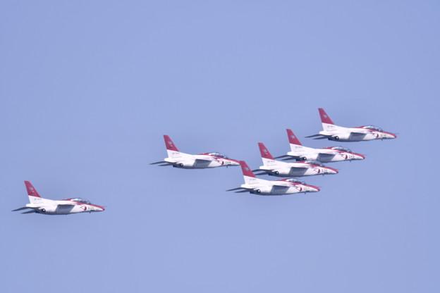 撮って出し。。芦屋基地航空祭予行練習 芦屋のレッドドルフィン 2月17日