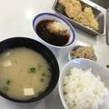 Photos: 撮って出し。。天ぷらひらの福岡空港店揚げたての天ぷら定食 2月17日