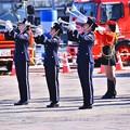 Photos: 横浜消防出初式。。消防音楽隊格好良く演奏