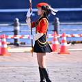 Photos: 横浜消防出初式。。消防音楽隊指揮取る。。
