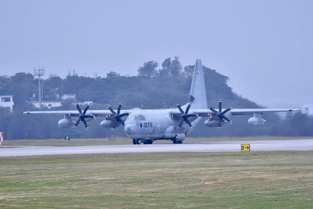 岩国の米海兵隊KC-130到着。。1月8日