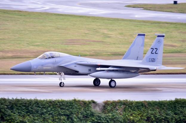 そしてスコールはやみランチェンで逆サイド移動白影 ZZのF-15(1) 1月8日