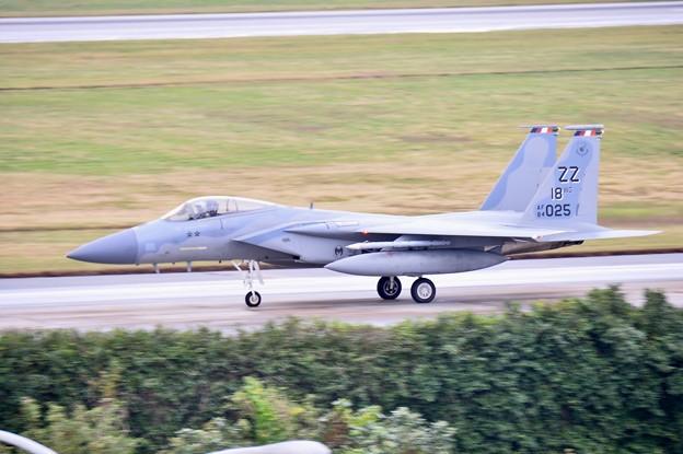 そしてスコールはやみランチェンで逆サイド移動白影 ZZのF-15隊長機(2) 1月8日