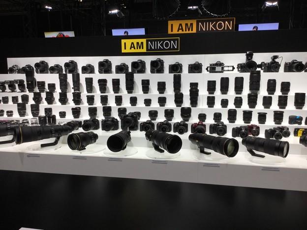 撮って出し。。CP+Nikonブース NIKKORレンズ軍団  3月4日