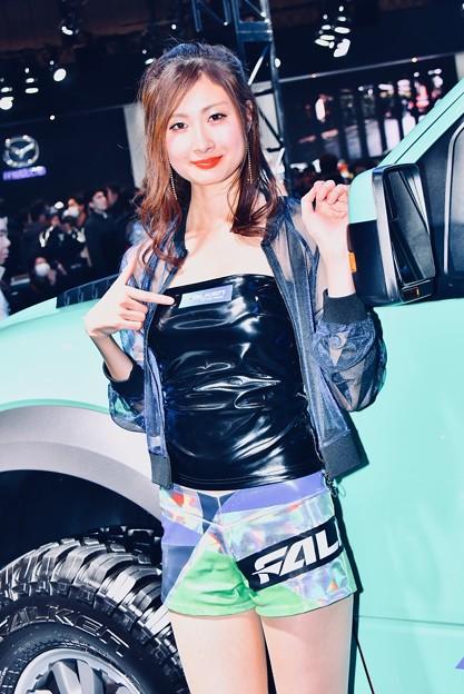 東京オートサロン。。会場彩るお姉さん達コンパニオン(25) 20180113