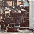 写真: 久しぶりのC5644 SL 運転準備中。。大井川鐵道 20180120