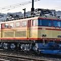 写真: 綺麗にメンテされた元西武鉄道EL 電気機関車 大井川鐵道 20180120