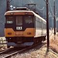 金谷へ向かう大井川鐵道 元近鉄特急 見送って 20180120