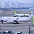写真: 撮って出し。。昨日から岩国へ行く前にロシア航空機  3月21日