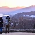 夕暮れの吾妻山から小田原方面の町を。。20180204