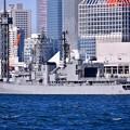 共同訓練のポストシップ護衛艦ゆうぎり 晴海埠頭 20180212