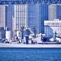 写真: 共同訓練へホストシップの海自護衛艦ゆうぎり出港 20180212