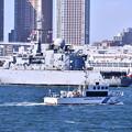 写真: フランス海軍ヴァンデミエール出航周囲厳戒態勢 20180212