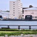 撮って出し。。横須賀基地来たばかりのSS-509 せいりゅう