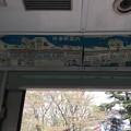 写真: 撮って出し。。昔のまま京急旧600形の車内 4月7日