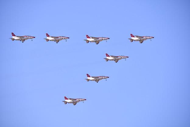 レッドドルフィンランディングライトティング飛行 20180218