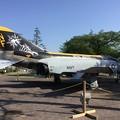 写真: 撮って出し。。久しぶりに見た厚木基地内米海軍F-4Sファントム 4 月21日