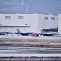 写真: 厚木基地から移動した艦載機たち。。チッピー 20180219