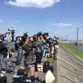 写真: 撮って出し。。GW 岩国基地フレンドシップデー予行練習 女の子もフルサイズ機で狙う
