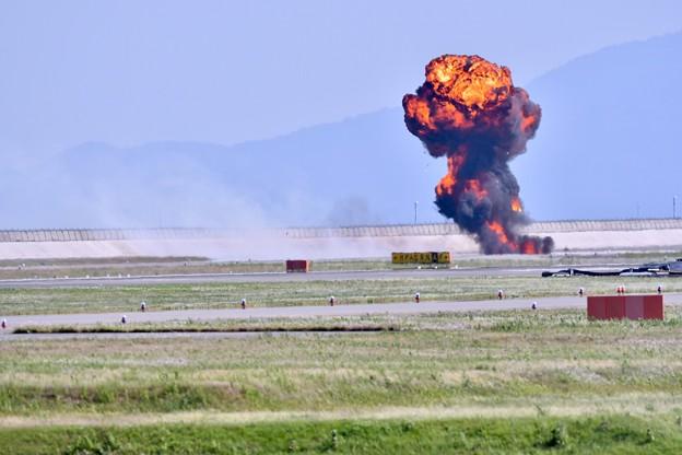 撮って出し。。MAGTFデモ対地攻撃 爆破(^_^;) 5月4日