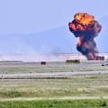 写真: 撮って出し。。MAGTFデモ対地攻撃 爆破(^_^;) 5月4日