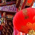 Photos: 春節の關帝廟。。豪華な飾りおもてなし 横浜中華街 20180224