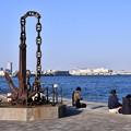 写真: 港横浜を見渡せる公園。。臨港パーク 20180304