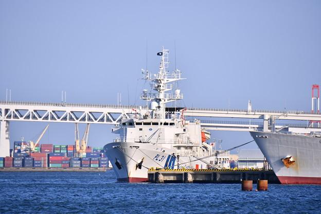 海上保安庁横浜基地 巡視船いず。。20180304