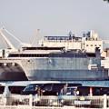 写真: 米軍施設横浜ノースドック瑞穂埠頭 高速輸送艦グアム(2) 20180304