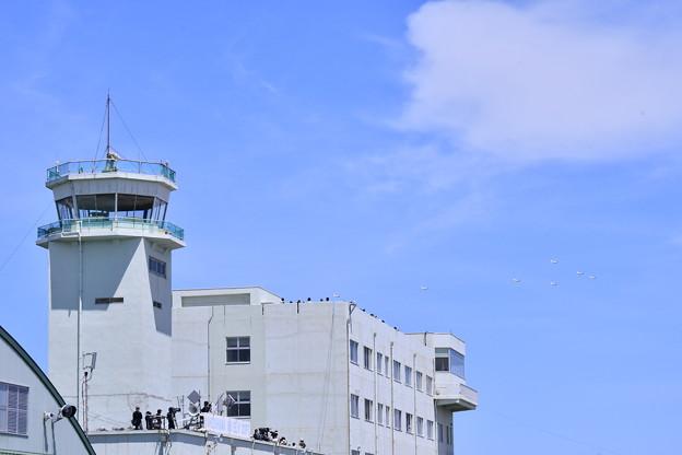 撮って出し。。浜松リモートでブルーインパルス 5月20日