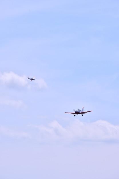 撮って出し。。静浜基地航空祭 静浜のT7初等練習機 5月20日