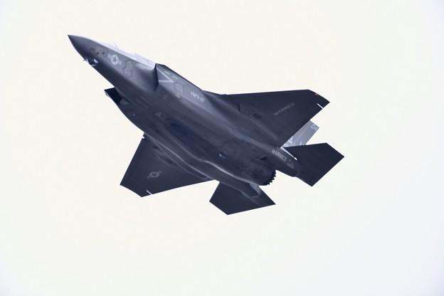 岩国基地から飛び立ったVMFA122グリーンナイツ F35Bライトニング(1)。。 20180321